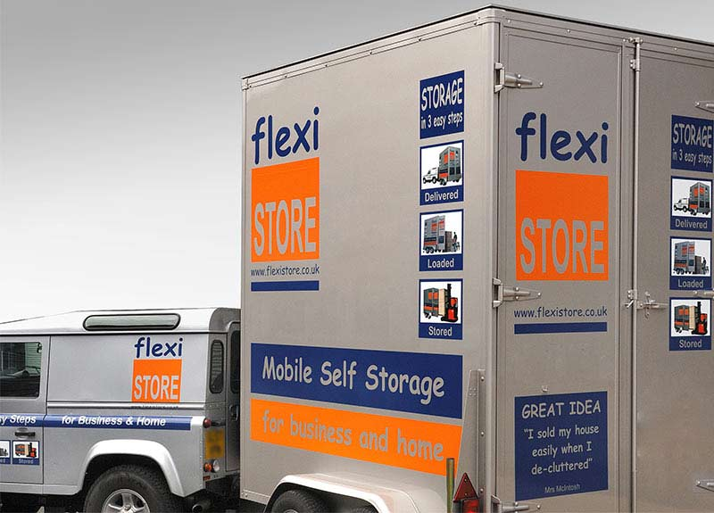 Self storage solution by Flexistore