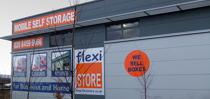 flexistore's manchester storage warehouse