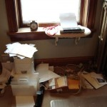 decluttering house
